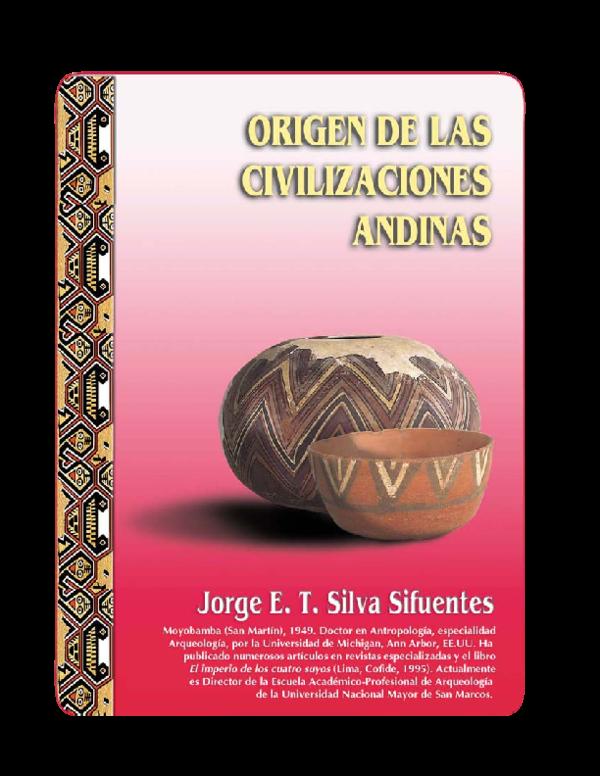 3f93c33e PDF) Peru 1 civilizaciones andinas | katirin cristina De la Cruz ...