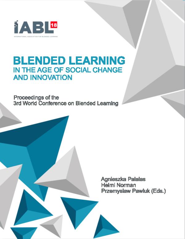 PDF) A Proposed Blended Educational Framework for