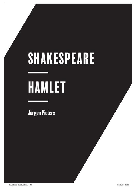 Pdf Shakespeare Hamlet Jürgen Pieters Jürgen Pieters