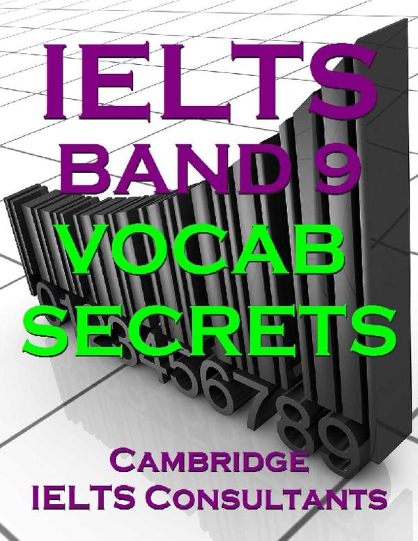 PDF) IELTS Band 9 Vocab Secrets Avayeshahir | Бахтияр