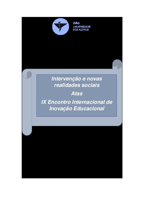 PDF) Ponta Delgada Intervenção e novas realidades sociais