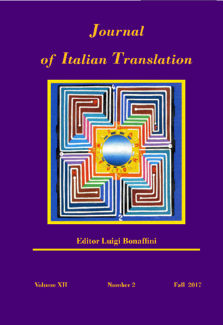 Journal Of Italian Translation Vol Xii No 2 Fall 2017 Luigi