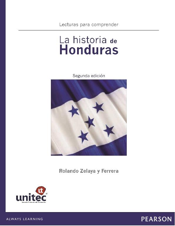 PDF) La Historia de Honduras (libro nuevo) (1) | Helen