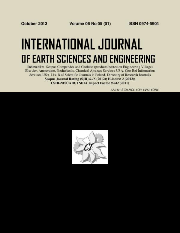 PDF) 2013-IJEE hydrology sp issue.pdf | Dharmapuram Reddy ...