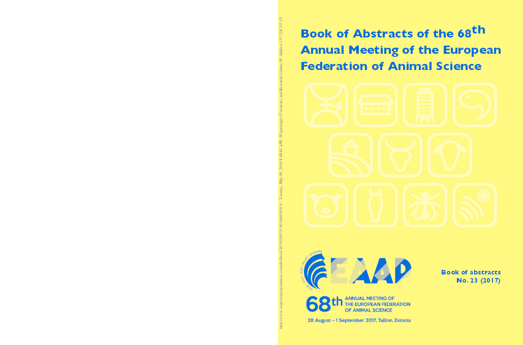 PDF) Book of Abstracts of the 68 th Annual Meeting of the