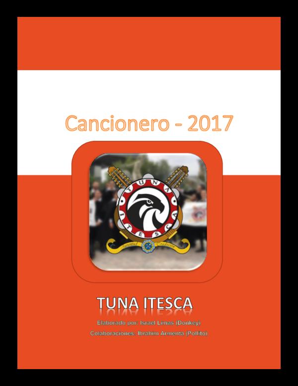 Doc Cancionero De Tuna Itesca En Proceso Manuel Castro