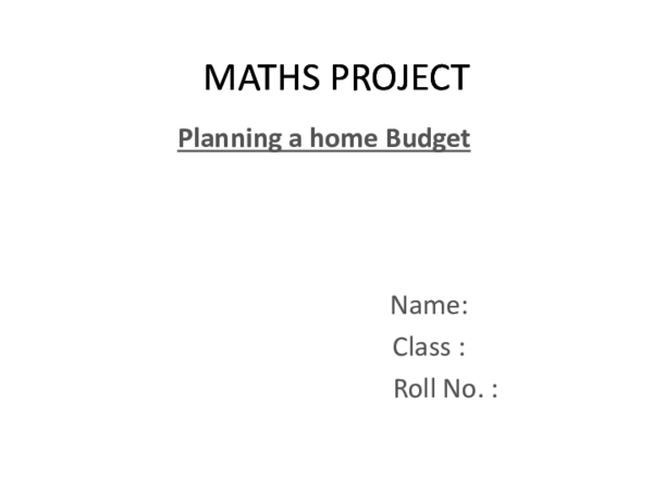 Pdf Maths Project Aniv Surana Academia Edu
