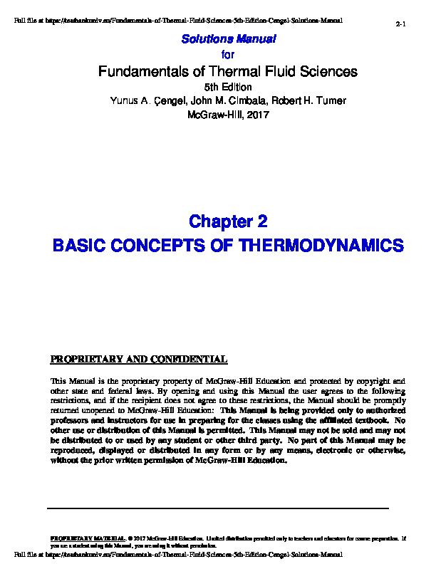 Cengel pdf yunus thermodynamics 7th edition