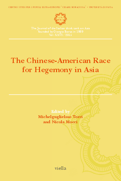 PDF) viella The Chinese-American Race for Hegemony in Asia