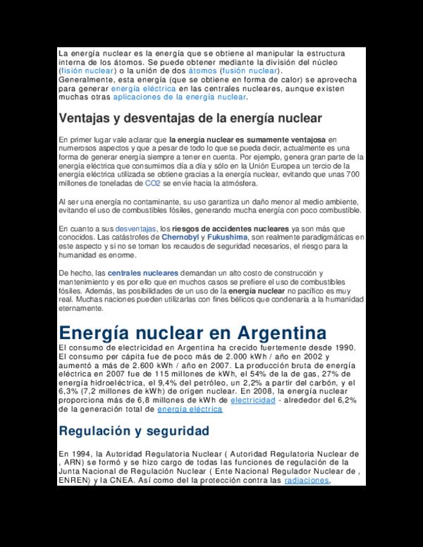 Doc Energia Nuclear Ariel Santayana Academia Edu
