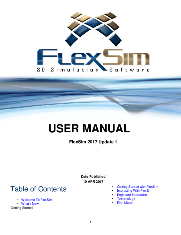 PDF) TUTORIAL FLEXSIM | Williams Amorim - Academia edu