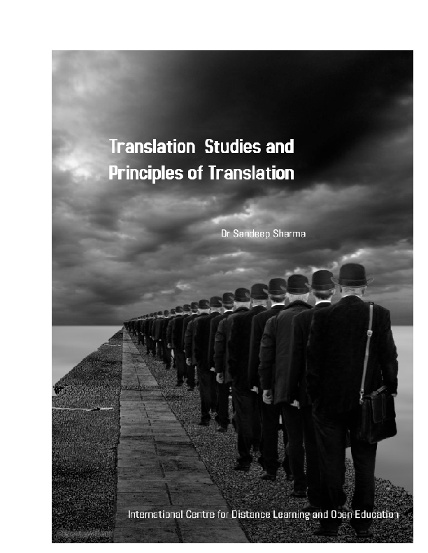 PDF) Translation_and_Translation_Studies, with special