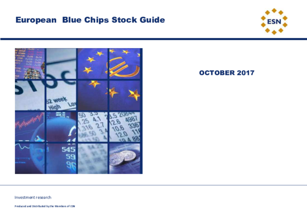 PDF) Investment research European Blue Chips Stock Guide