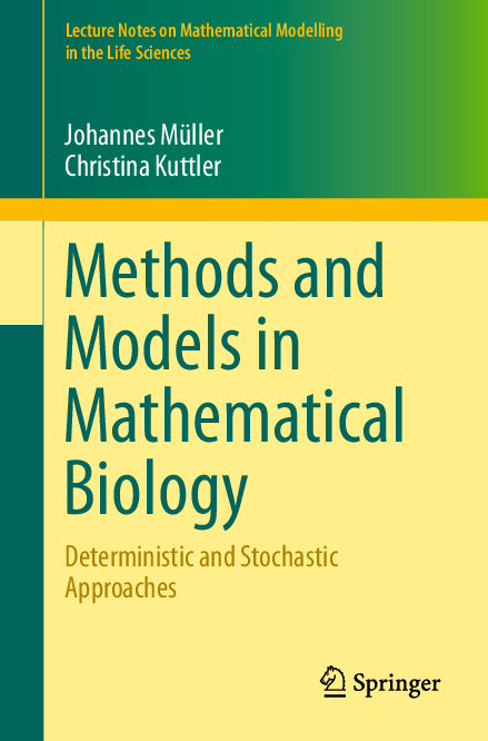PDF) Lecture Notes on Mathematical Modelling in the Life Sciences