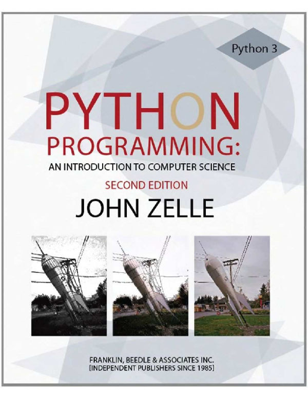 PDF) Python Programming An Introduction to Computer Science 2nd