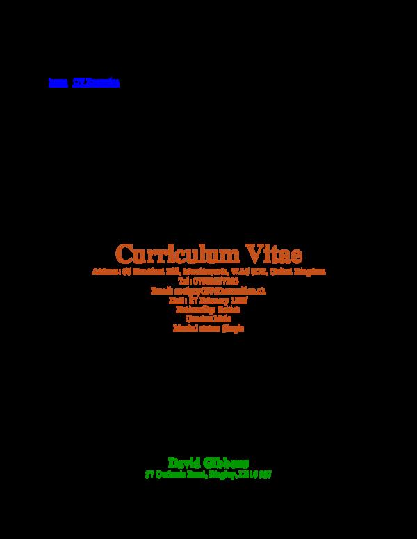 Bad Cv Examples from 0.academia-photos.com