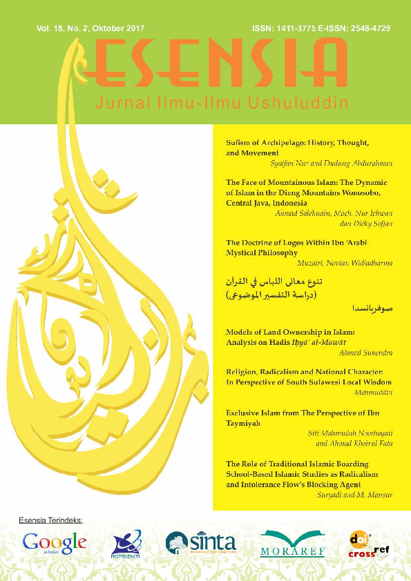 PDF) Exclusive Islam From the Perspective of Ibn Taymiyyah