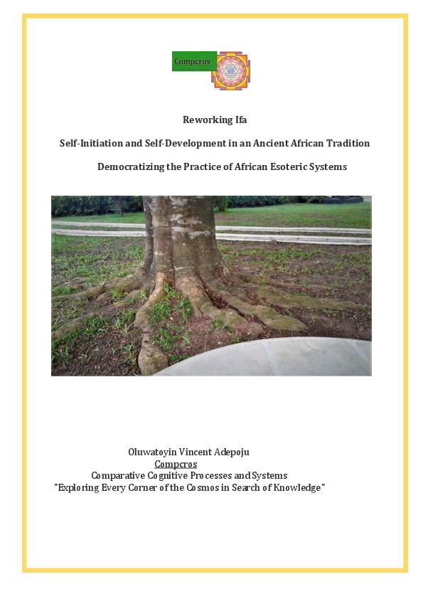 PDF) Reworking Ifa : Self-Initiation and Self-Development in