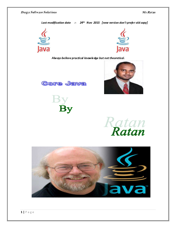 By Photo Congress || Java 8 New Features In Simple Way Durgasoft