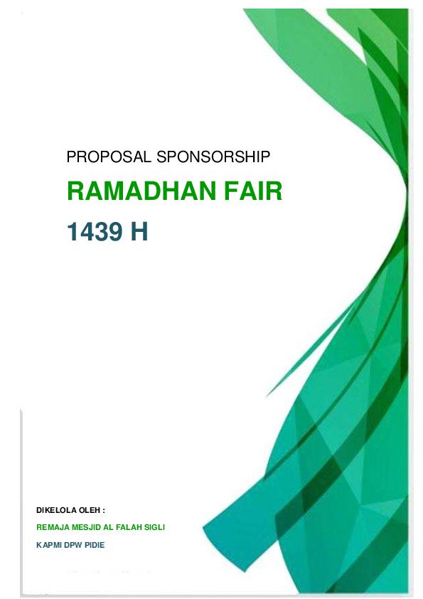 Pdf Proposal Kemitraan Ramadhan Fair Remaja Mesjid Alfalah Kapmi Pidie Lpp Dkp Academia Edu