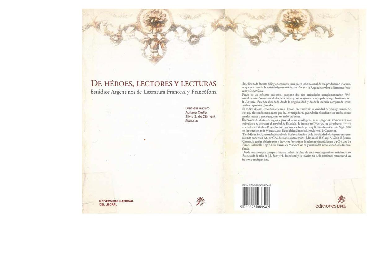 Pdf De Héroes Lectores Y Lecturas Estudios Argentinos De