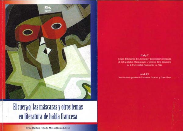 Pdf El Cuerpo Las Máscaras Y Otros Temas En La Literatura