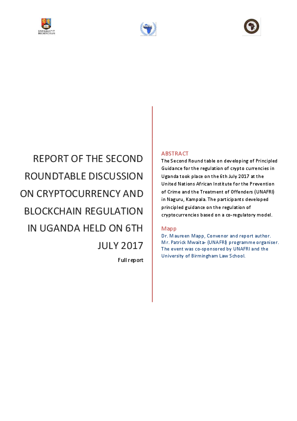 cryptocurrency report pdf