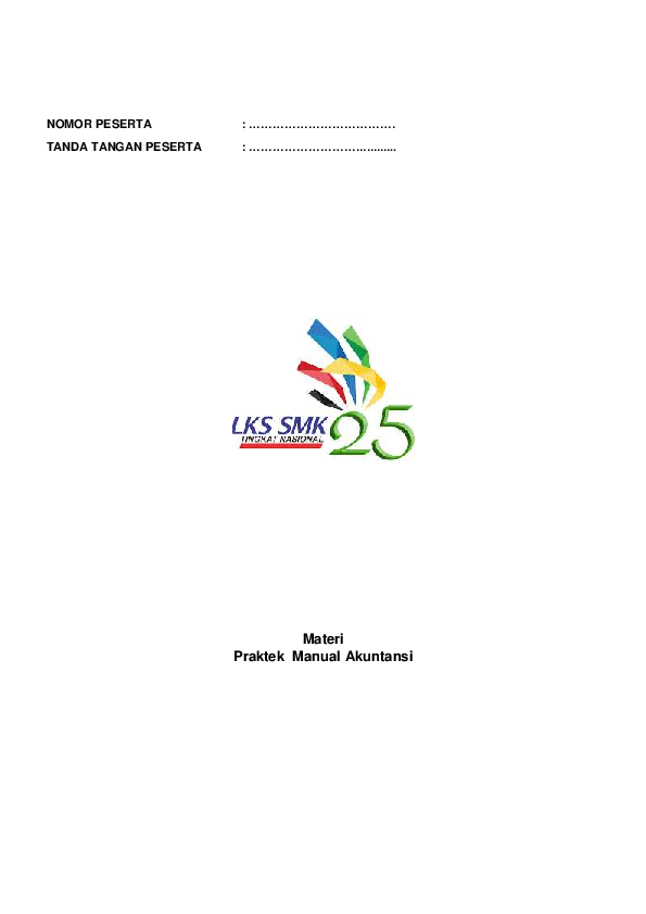Pdf Soal Manual Lks Nasional Ke Xxv Solo Tahun 2017 Pdf Moch S P Academia Edu