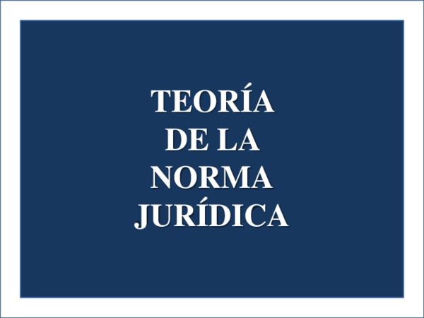 Pdf Teoría De La Norma Jurídica Camila Vargas Zapata