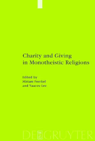 PDF Charity and Giving in Monotheistic Religions