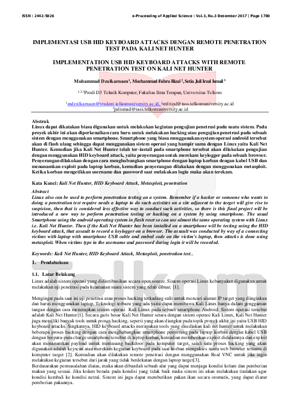 The Penetration test pdf apologise