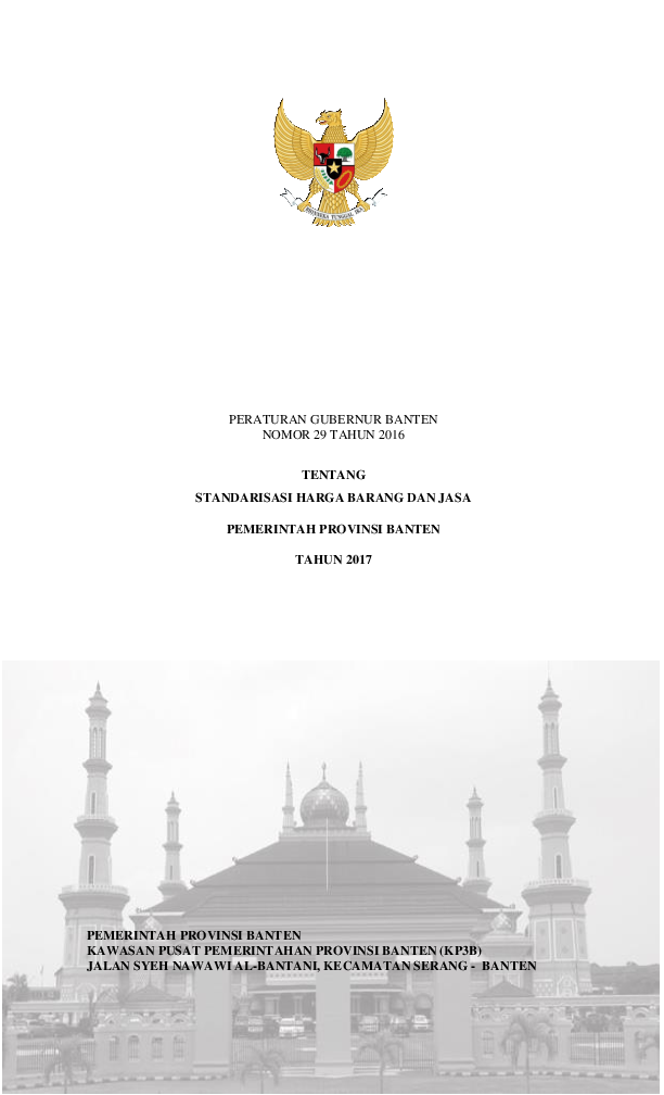 b8ab6704c2a PDF) Standar Harga Barang dan Jasa Provinsi Banten