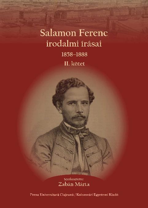 Salamon Ferenc irodalmi írásai 1858–1888  a56c10130b