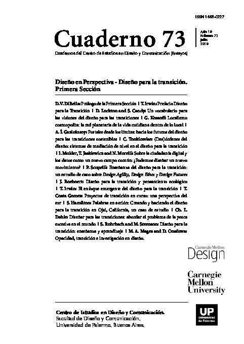 PDF) Cuaderno 73 | Cheryl Dahle - Academia edu