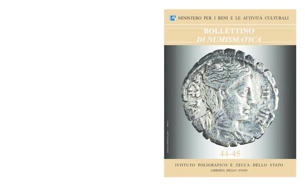 b4afb56495 PDF) Bollettino di Numismatica, 44-45, anno 2005, gennaio-dicembre ...
