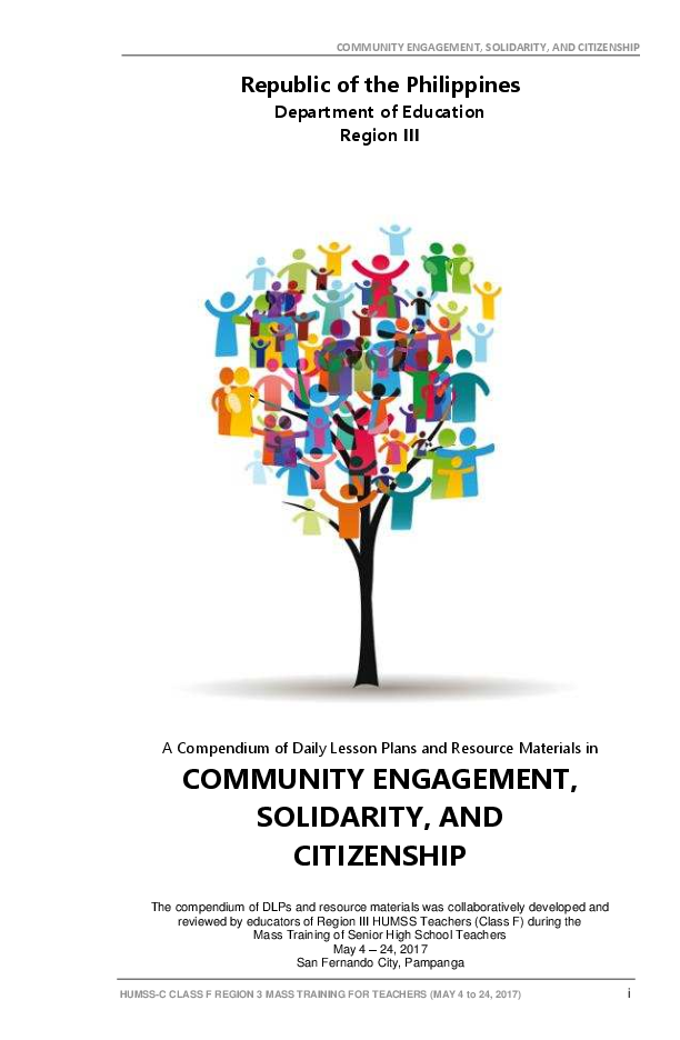 PDF)  2 Community Engagement, Solidarity, and Citizenship