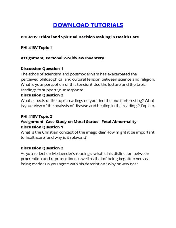 case study healing and autonomy gcu