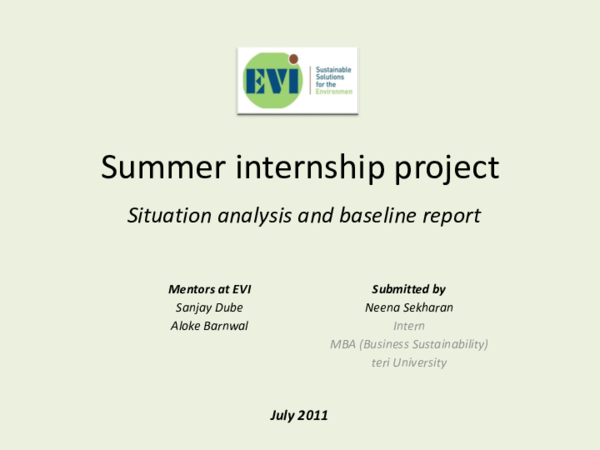 PPT) Final Presentation - Summer Internship at Emergent