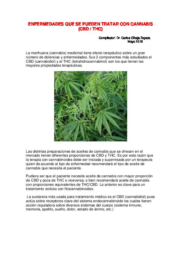 lista de dolencias cannabis cura diabetes