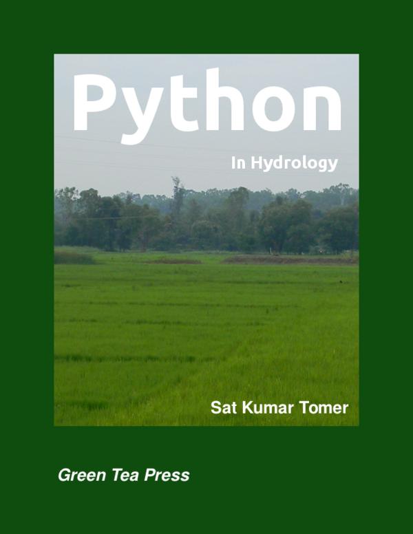 PDF) Python in Hydrology Sat Kumar Tomer | ABDEL ROCA NOA