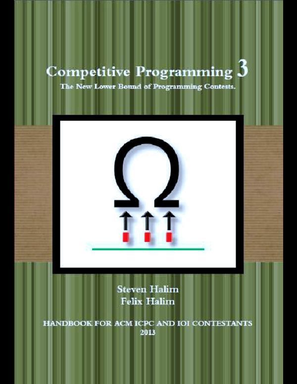 PDF) Competitive Programming | Joseph Man - Academia edu