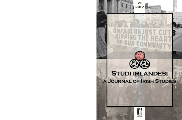 Pdf Homosexuals Are Revolting Gay Lesbian Activism In The Republic Of Ireland 1970s 1990s In Studi Irlandesi Issue 7 Patrick J Mcdonagh Academia Edu