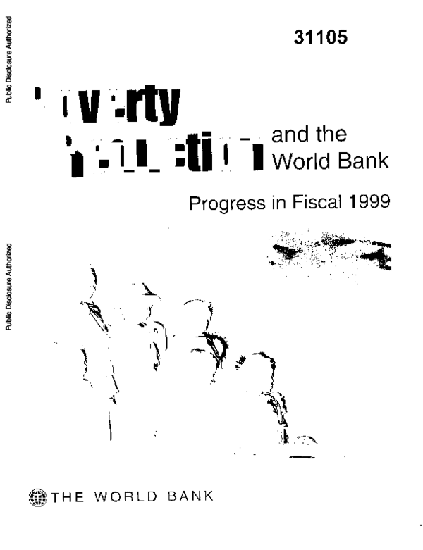 PDF) Poverty reduction and the World Bank : progress in