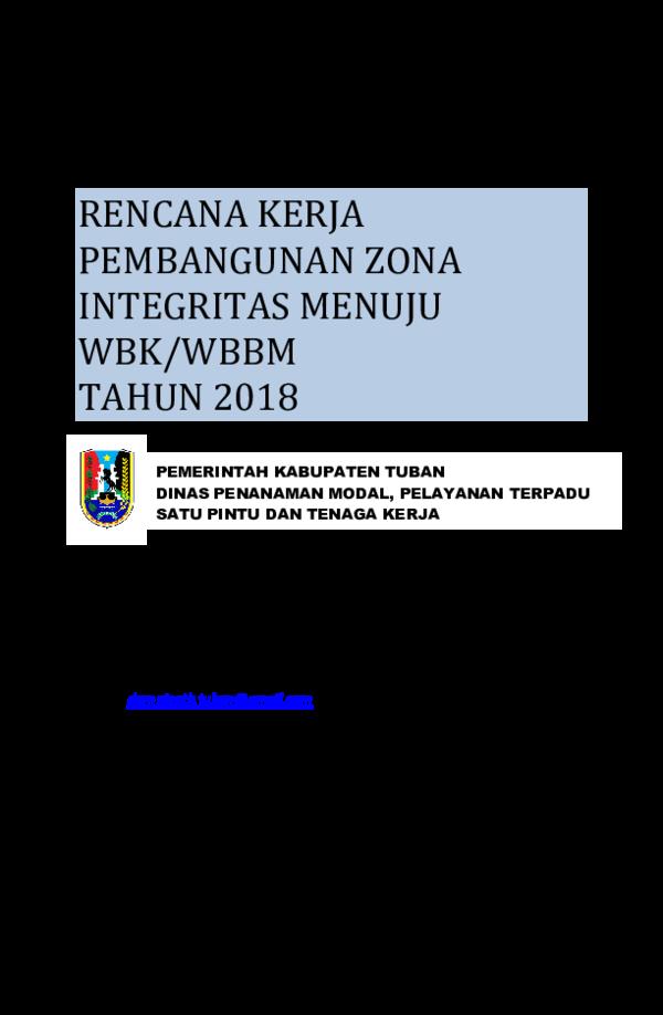 Contoh Laporan Monitoring Dan Evaluasi Pembangunan Zona Integritas Kumpulan Contoh Laporan
