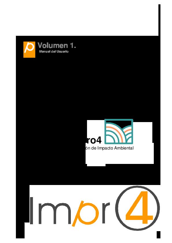 (PDF) Impro4-EIA Manual del Usuario 0 Volumen 1. Manual