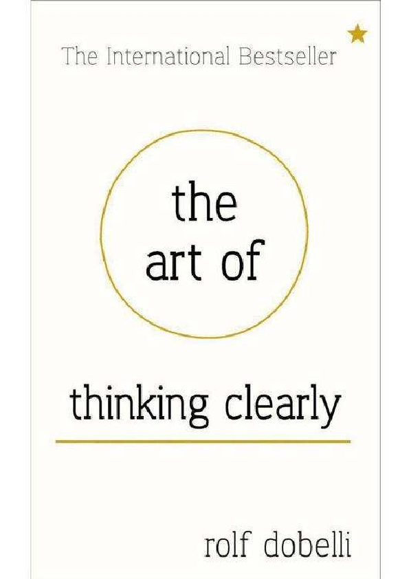Epub of thinking clearly the art