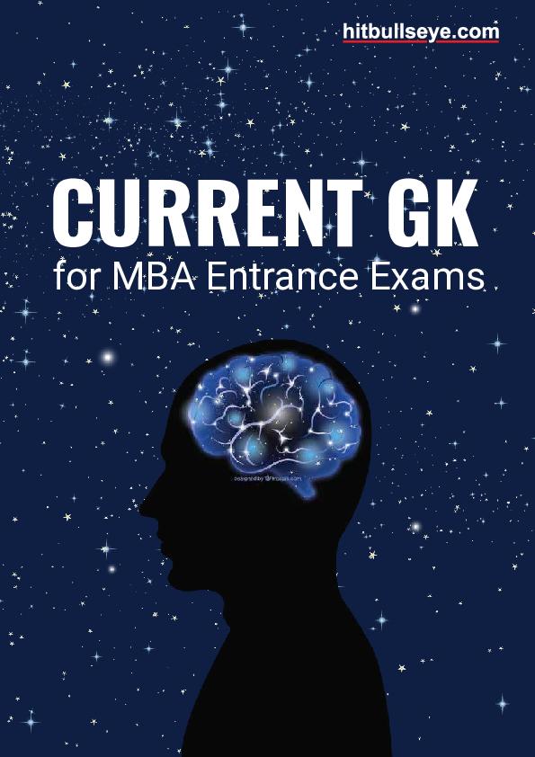 PDF) CURRENT GK for MBA Entrance Exams   ananya misra