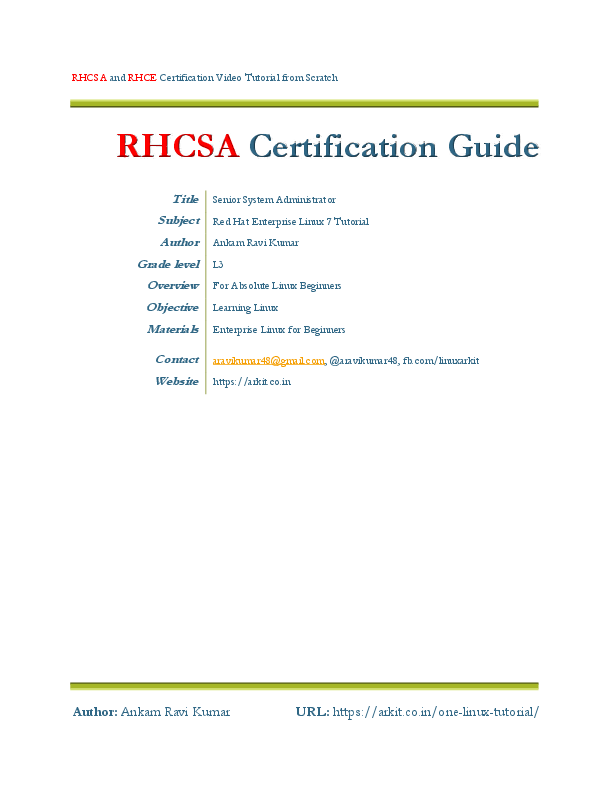 Roseglennorthdakota / Try These Red Hat Linux Administration Guide Pdf