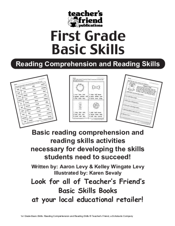 PDF) St Grade Basic Skills Reading Comprehension And Reading Skills(1)  Salem Nqh - Academia.edu