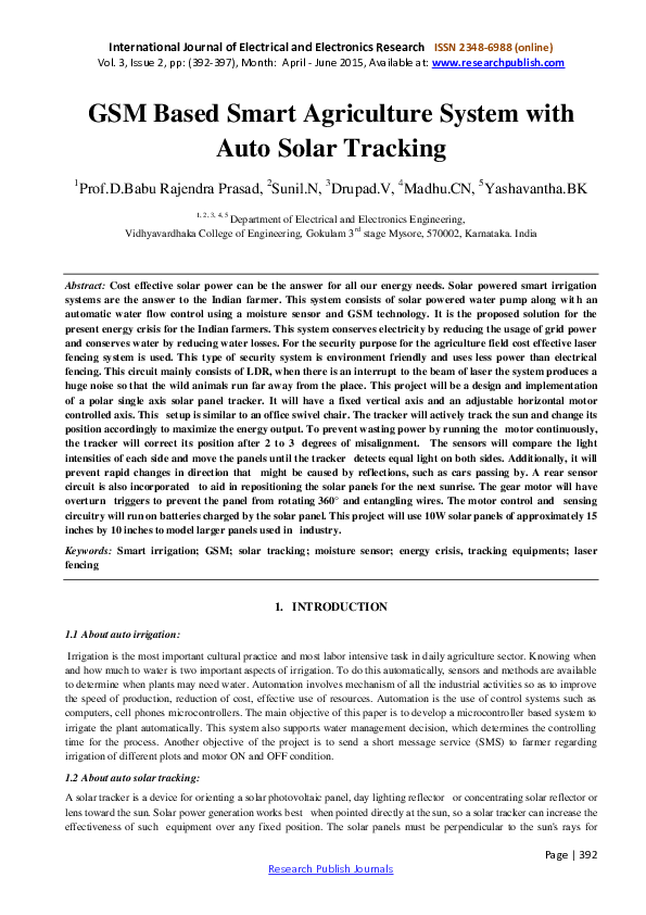 Super Pdf Gsm Based Smart Agriculture System With Auto Solar Tracking Wiring Database Lotapmagn4X4Andersnl